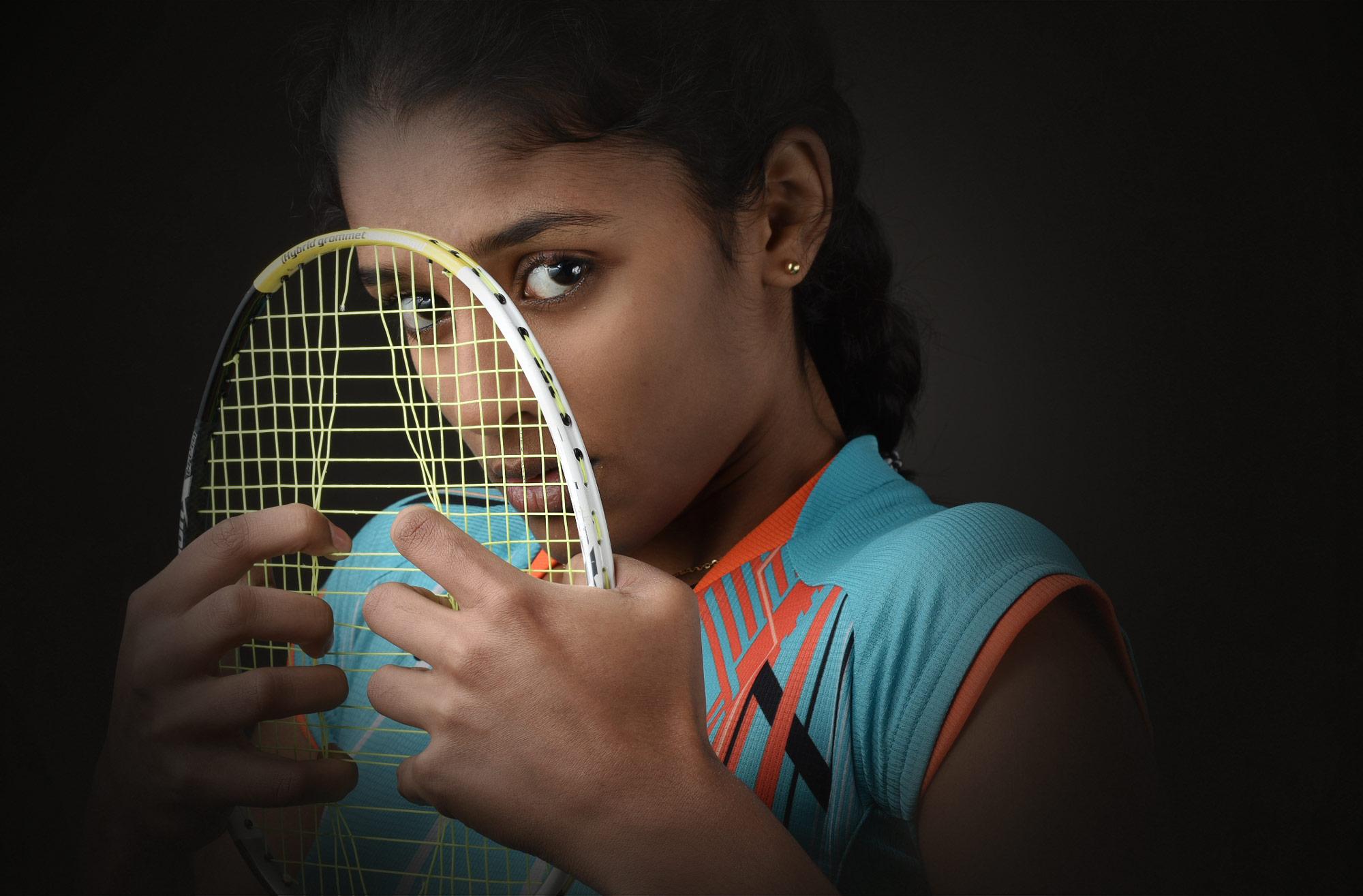 Ashwathi Pillai Badminton